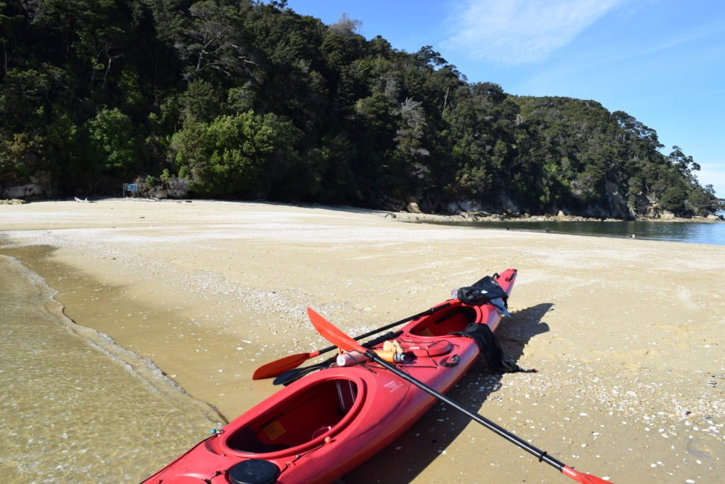 new zealand abel tasman national park kayaking