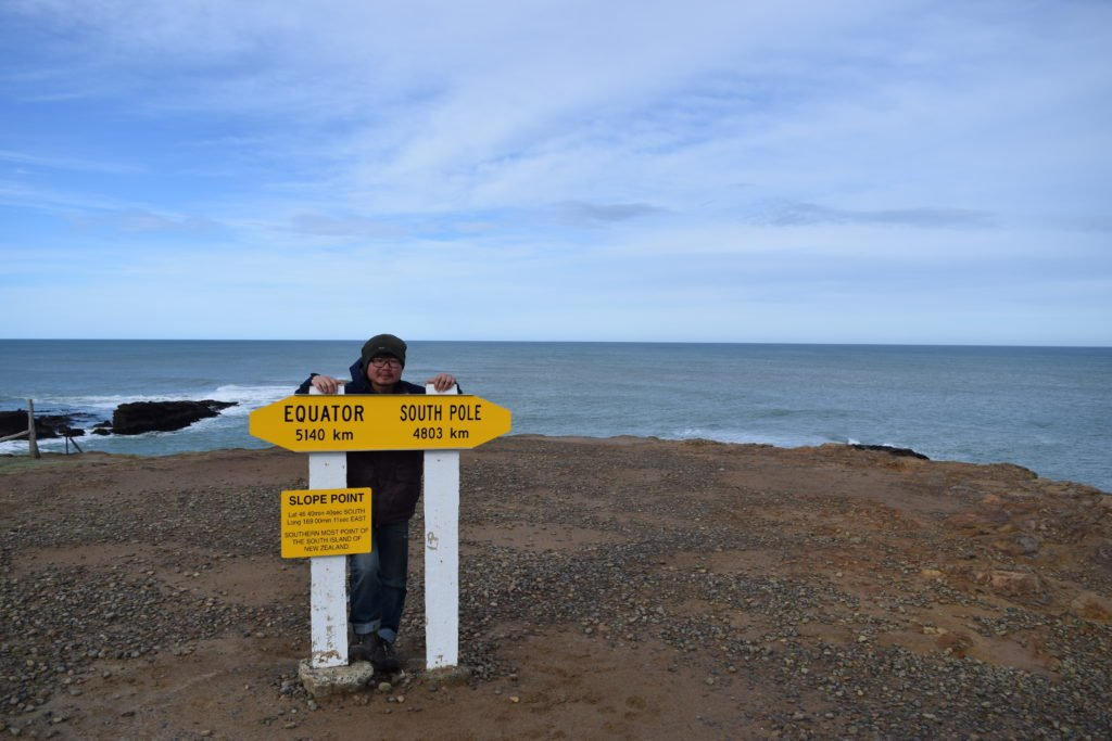 new zealand southernmost tip at slope point