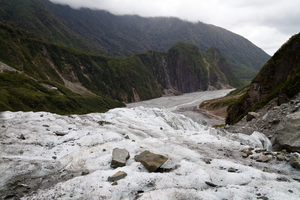 new zealand fox glacier