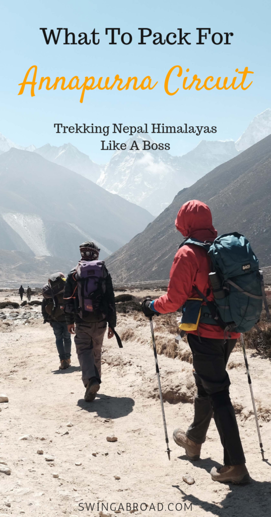 What to Pack for Annapurna Circuit, Nepal? Trek Like A Pro
