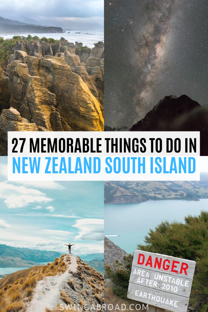 27 Memorable Things to do in New Zealand South Island