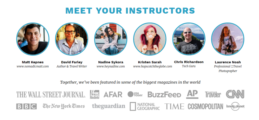 superstar blogging instructors
