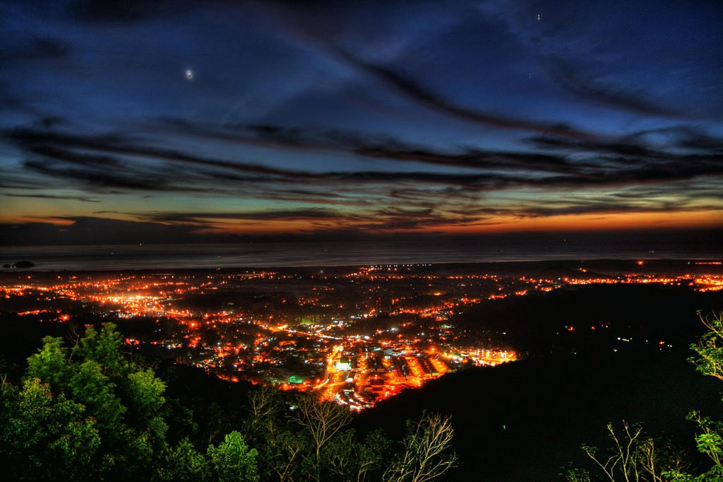 Balik Pulau Penang at Night
