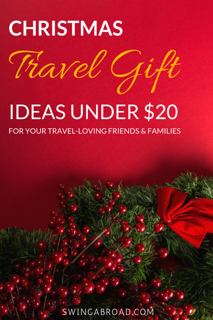 Christmas Travel Gifts Under $20