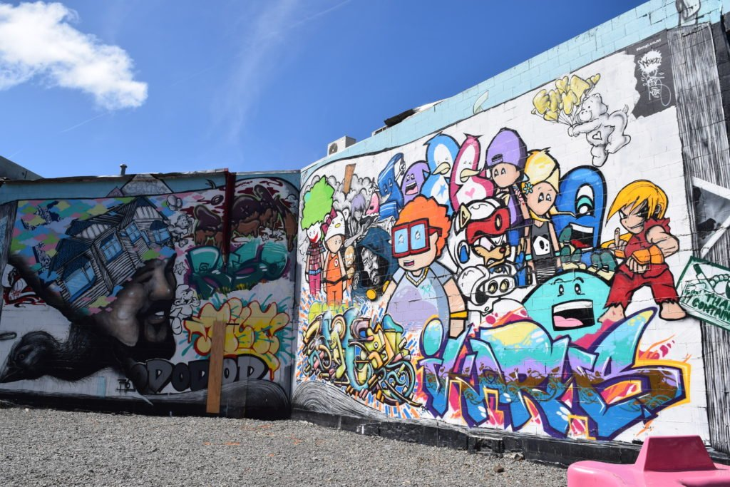 new zealand christchurch mural paintings