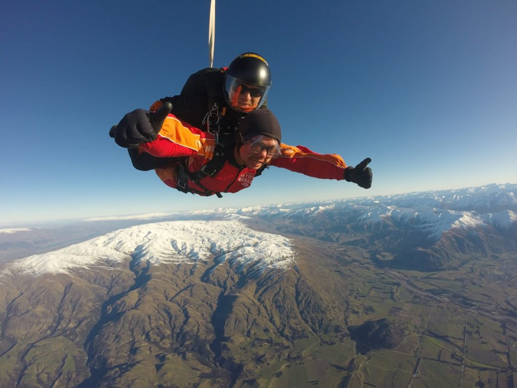 skydive wanaka new zealand