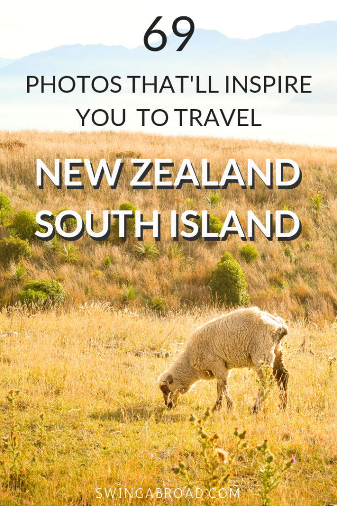 69 Photos That'll Inspire You To Travel New Zealand South Island. After spending months in New Zealand photographing the natural beauty of South Island, here's how it looks like if you've never been to New Zealand. These photos will definitely awaken your inner wanderlust and plan your travel to New Zealand in no time! Check them out here!