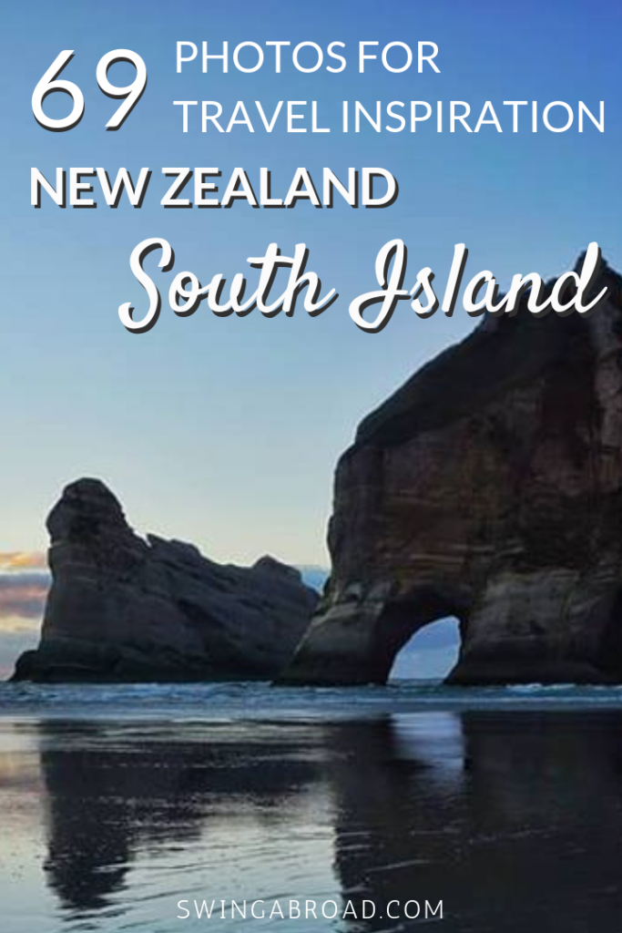 69 Photos For Travel Inspiration New Zealand South Island. After spending months in New Zealand photographing the natural beauty of South Island, here's how it looks like if you've never been to New Zealand. These photos will definitely awaken your inner wanderlust and plan your travel to New Zealand in no time! Check them out here!