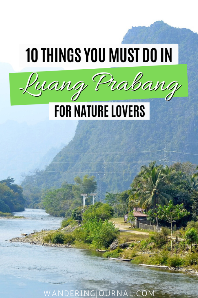 10 Things You Must Do in Luang Prabang For Nature Lovers