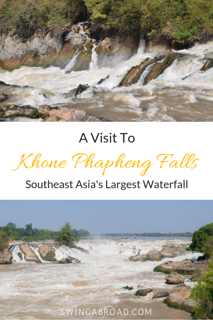 A Visit to Khone Phapheng Falls in Laos - Southeast Asia's Largest Waterfall