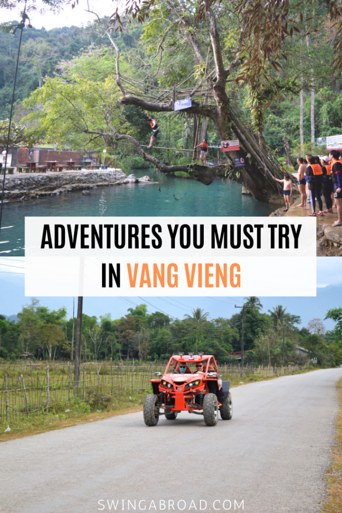 Adventures You Must Try in Vang Vieng