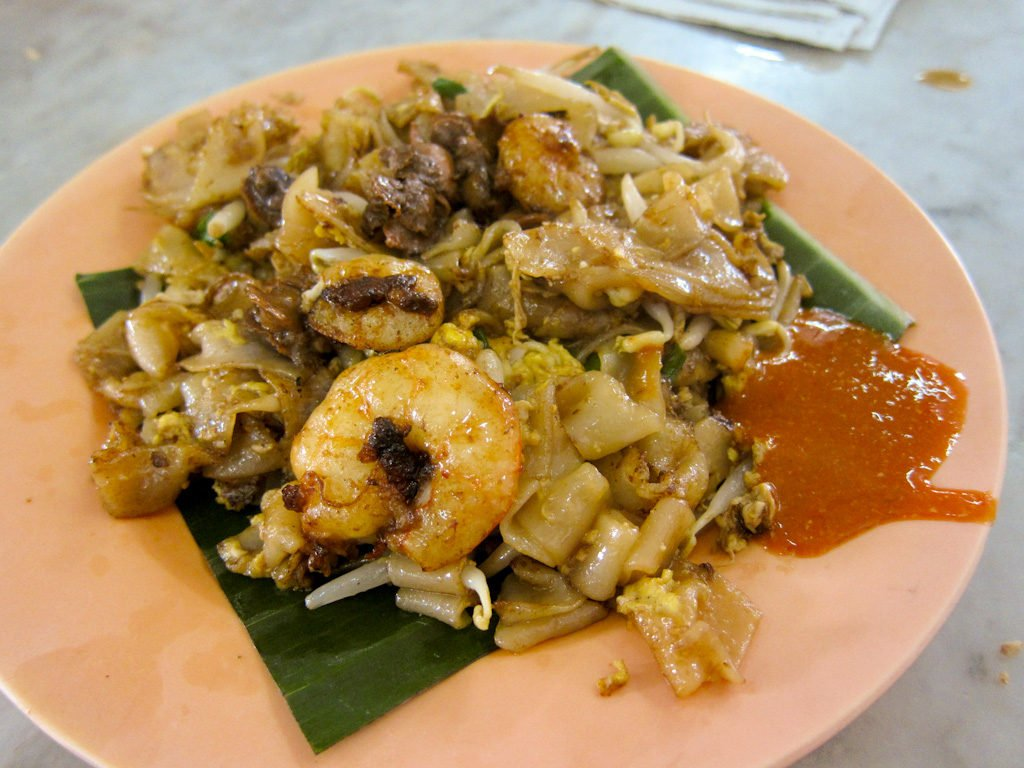 Penang Char Kuey Teow Local Street Food