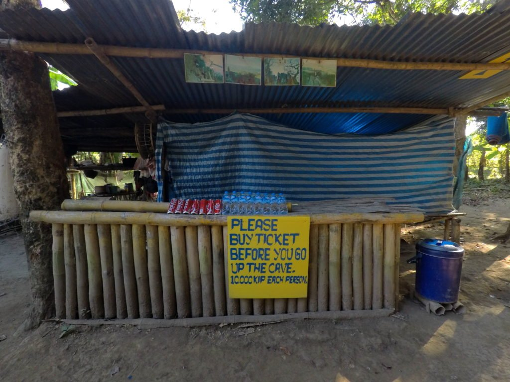 Ticket Counter At The Entrance of Pha Poak Viewpoint