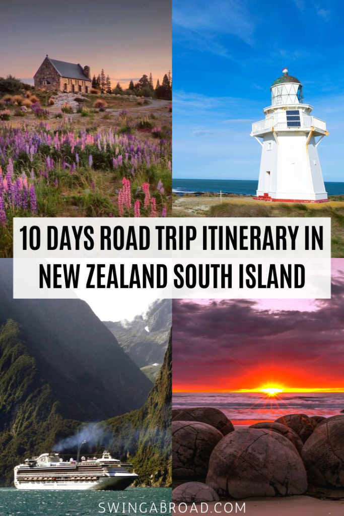 10 Days Road Trip Itinerary in New Zealand South Island 2