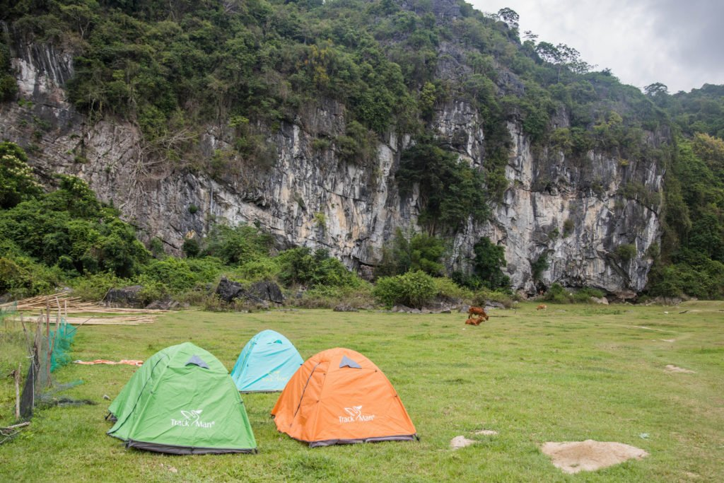 Cat Ba Island Butterfly Valley Camping Tents