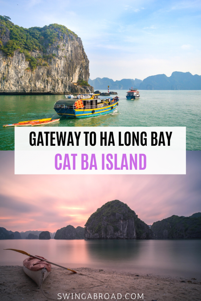 Gateway to Ha Long Bay Cat Ba Island