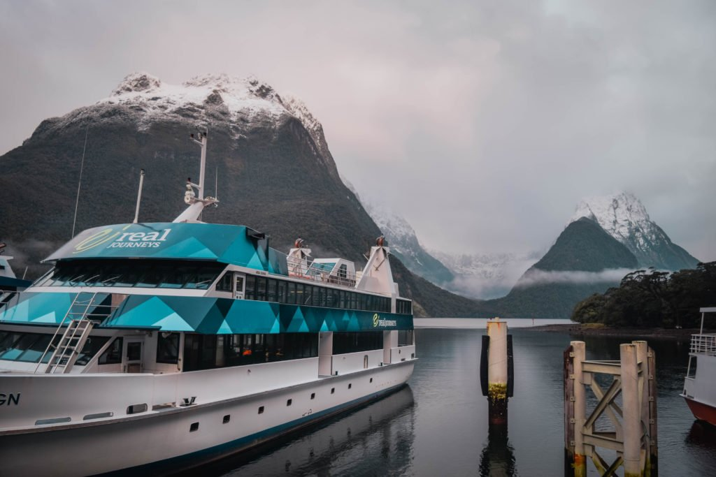 Milford Sound Cruise in Winter