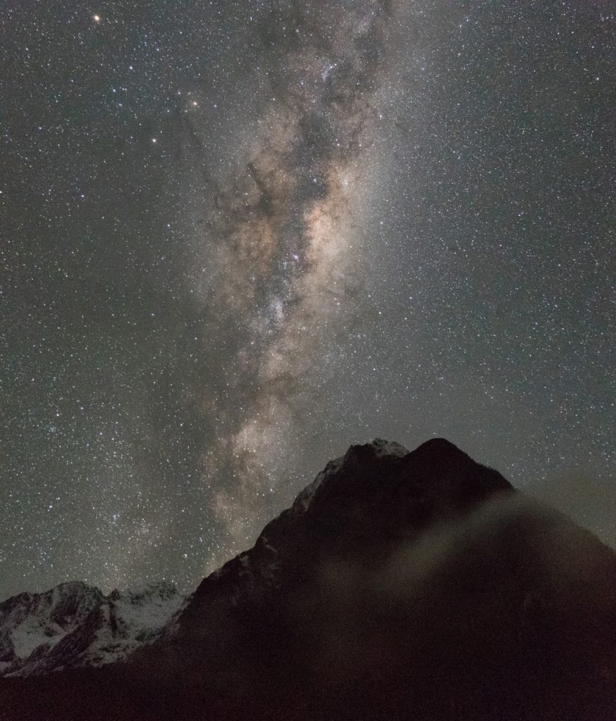 Photographing the Milky Way Night Sky Stars in Milford Sound