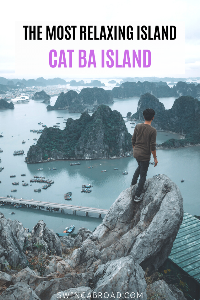 The Most Relaxing Island Cat Ba Island