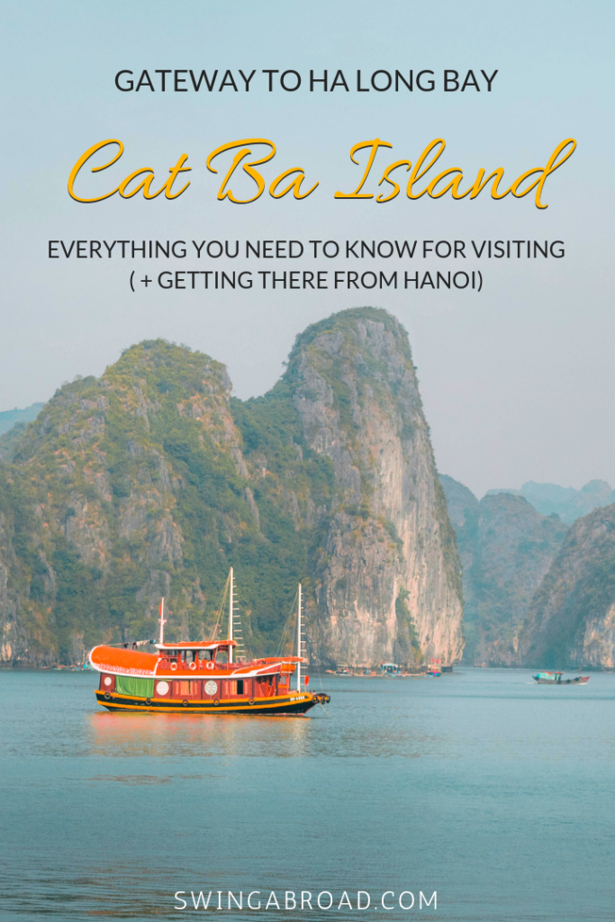 Vietnam Cat Ba Island Gateway to Ha Long Bay