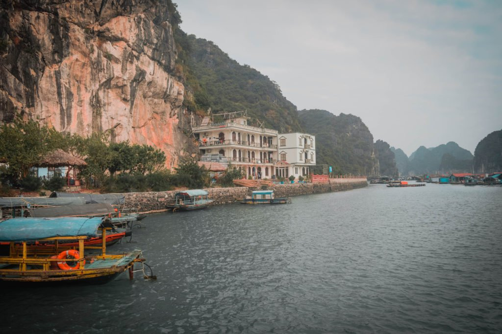 Vietnam Cat Ba Island Jetty