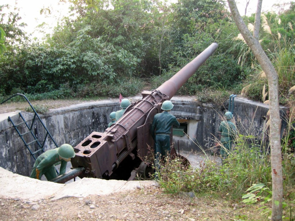 Vietnam Cat Ba Island Cannon Fort