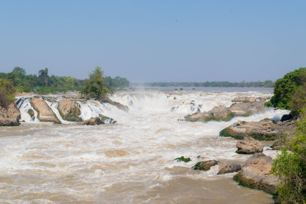 laos si phan don 4000 islands khone pha pheng waterfall