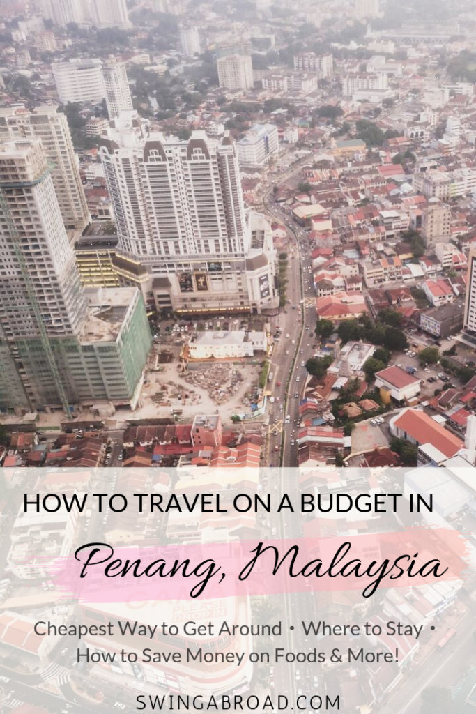 Penang on a Budget Pin