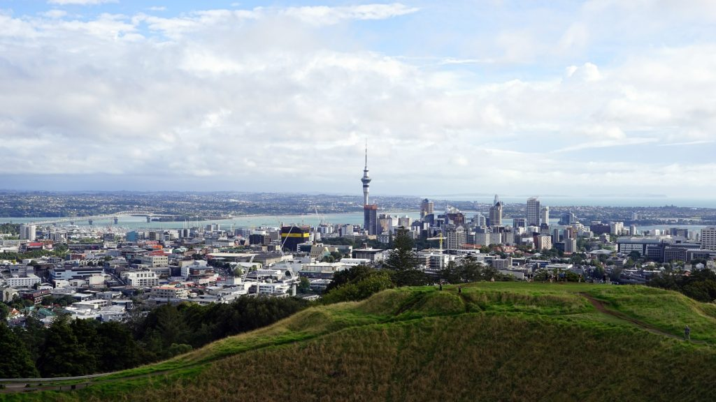New Zealand North Island Auckland City View