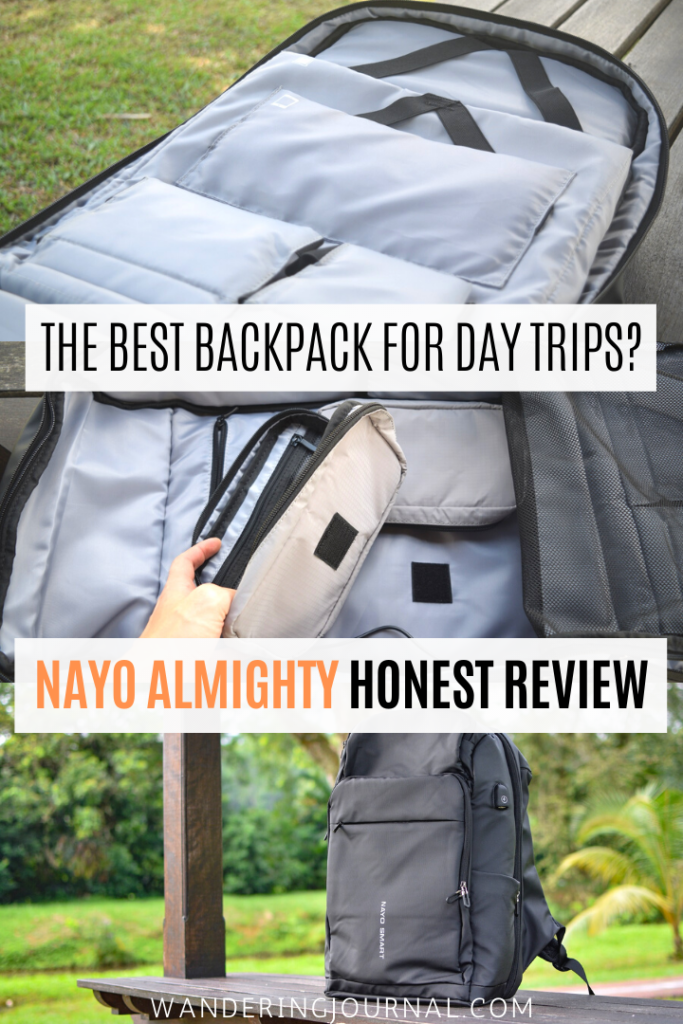 Nayo Almighty Review - Best Backpack for Day Trips