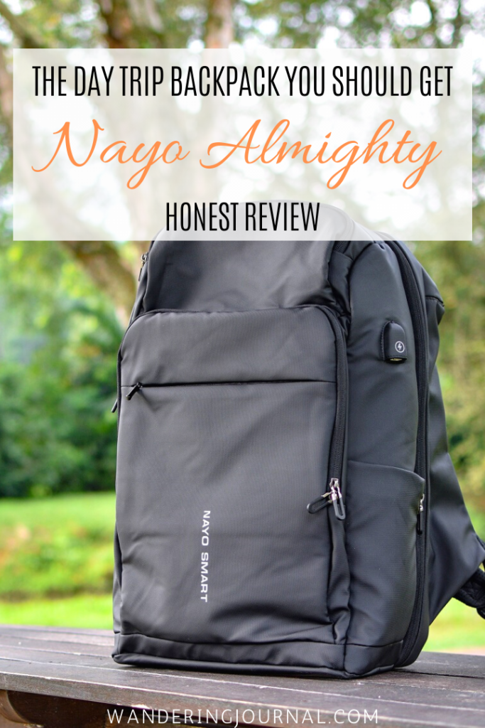 Nayo Almighty - The Day Trip Backpack You Should Get