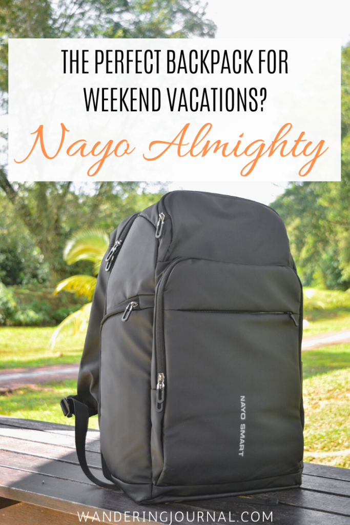 The Perfect Backpack For Weekend Vacations - Nayo Almighty