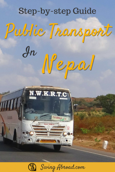 public transport in nepal