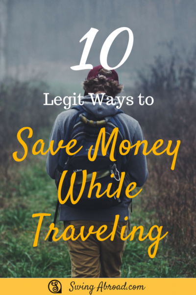 ways to save money while traveling