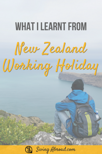 new zealand working holiday